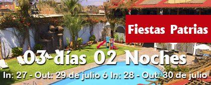 Fiestas Patrias – 3D 2N