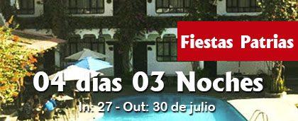 Fiestas Patrias – 4D 3N