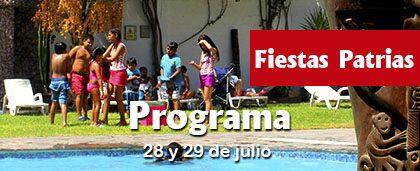 Fiestas Patrias – Programa